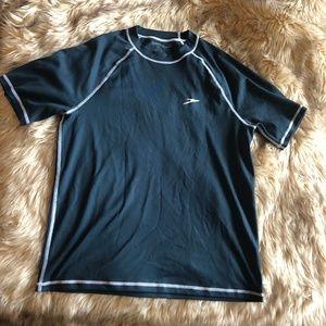 Speedo Men's Easy Short Sleeve Swim Shirt - Small